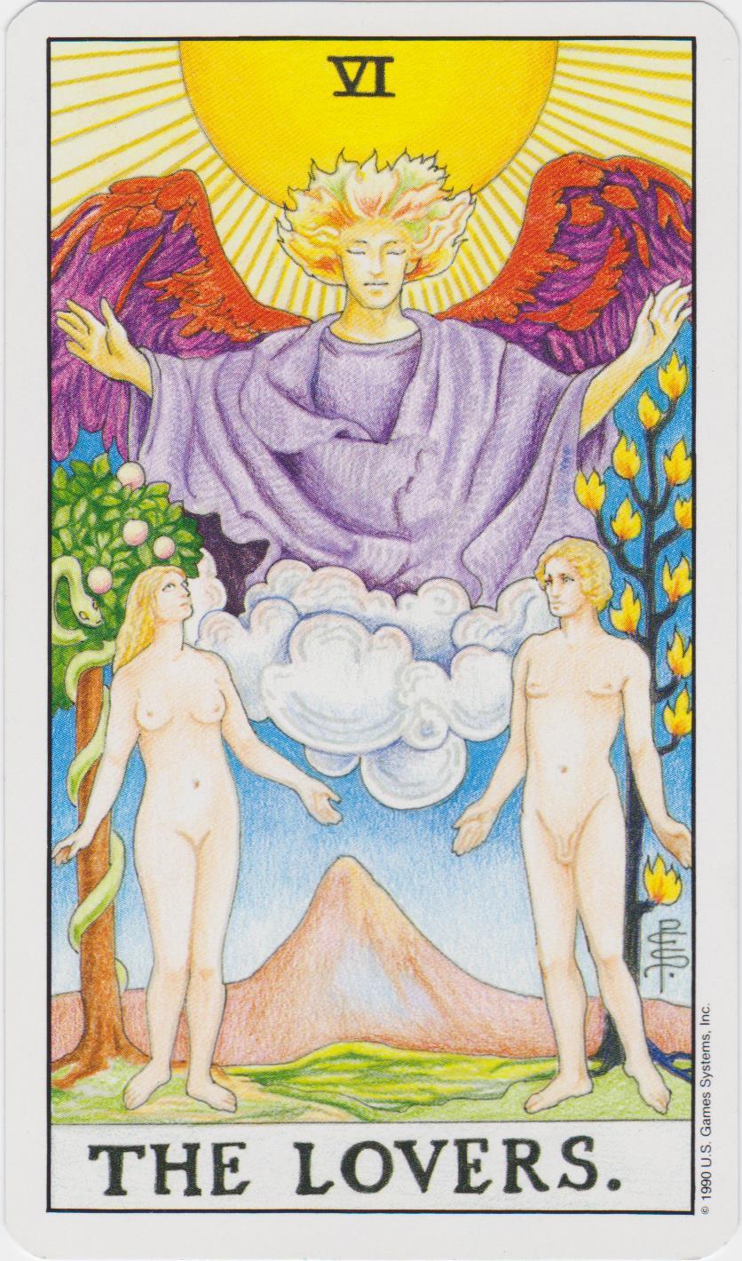 VI. szeretők – Teremtő – Tarot – Modellezés